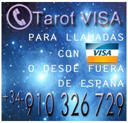Ricardo Latouche, presenta su servicio Tarot Visa, para llamadas con Visa o desde fuera de España.Teléfono +34-910326729.