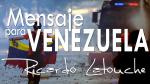 Video Mensaje Venezuela   Ricardo Latouche Tarot