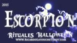 Rituales Halloween 2015 Escorpion