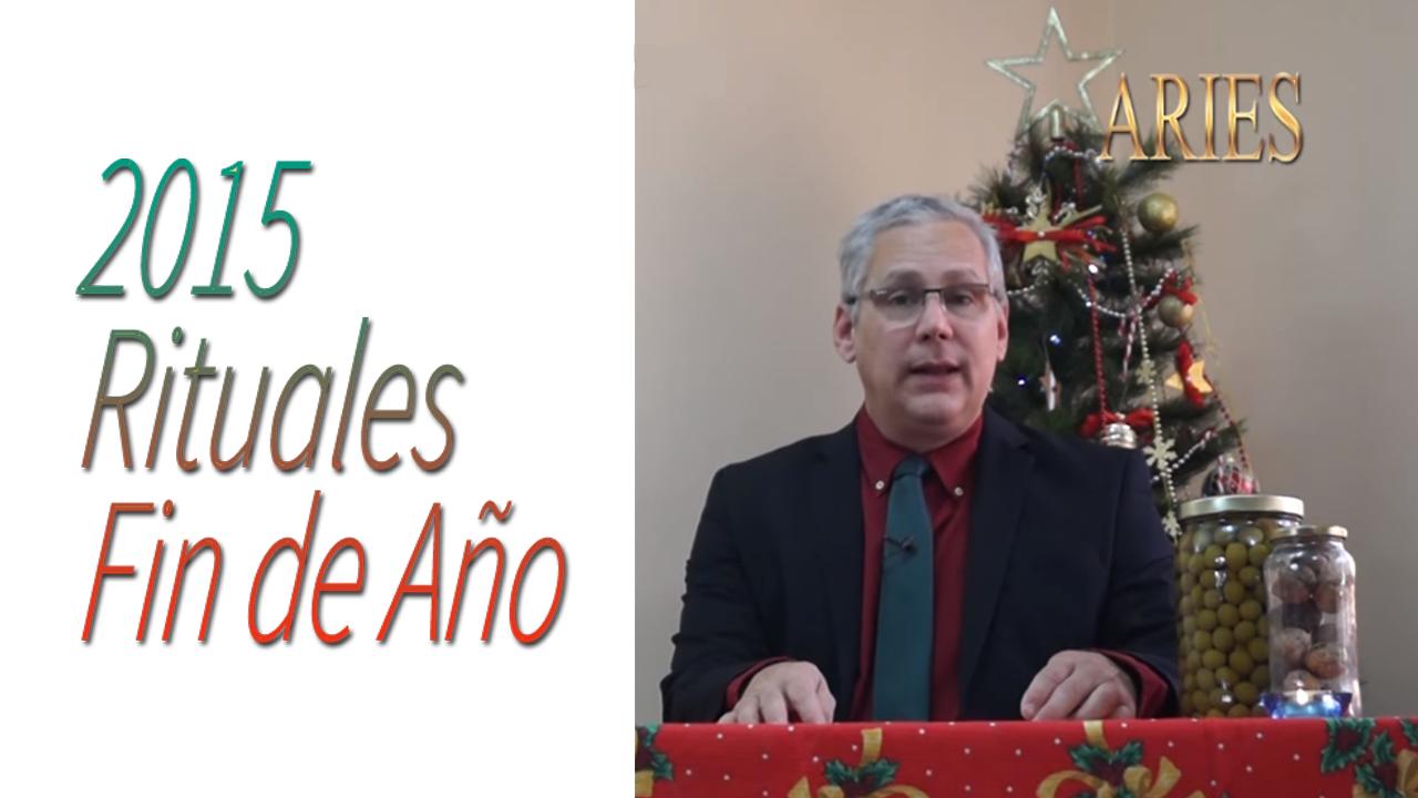 ARIES Video Rituales Fin de Año 2015 | RicardoLatoucheTarot