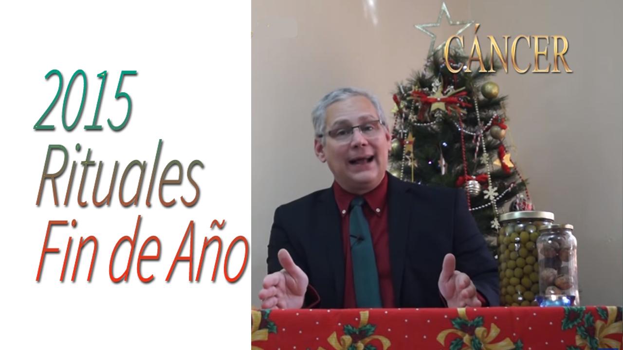 CANCER Video Rituales Fin de Año 2015 | RicardoLatoucheTarot
