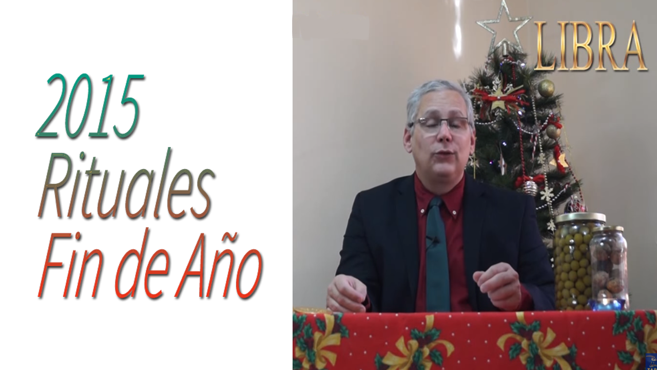 LIBRA Video Rituales Fin de Año 2015 | RicardoLatoucheTarot
