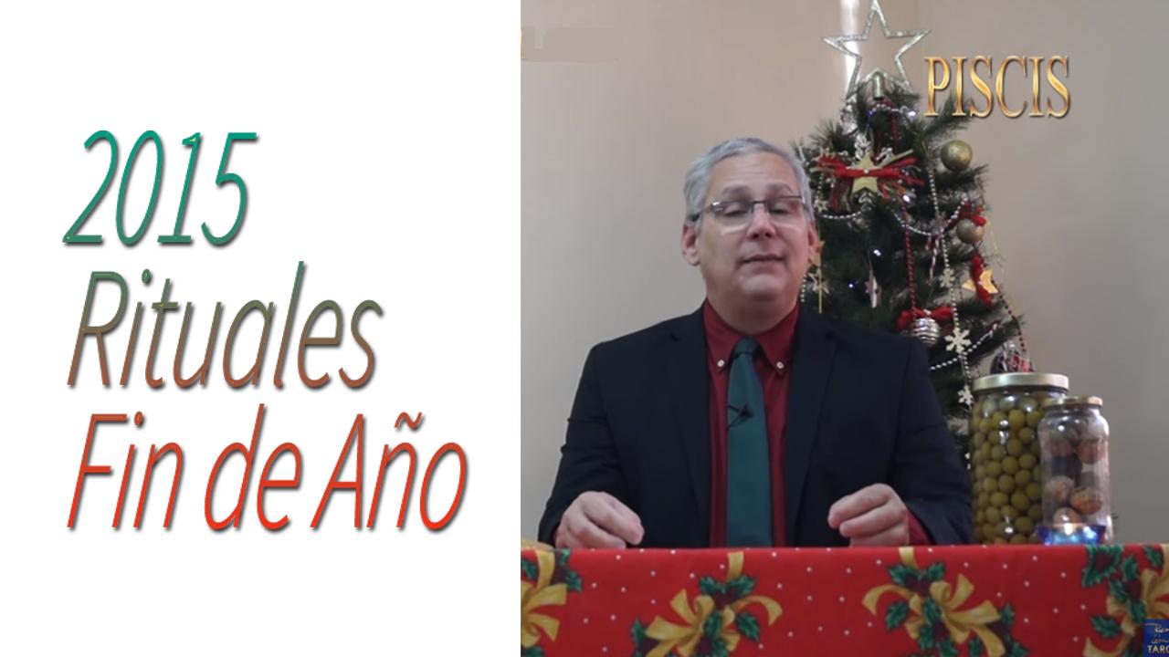 PISCIS Video Rituales Fin de Año 2015 | RicardoLatoucheTarot