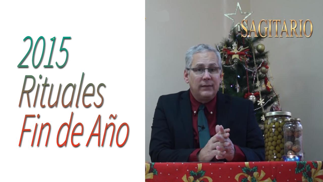 SAGITARIO Video Rituales Fin de Año 2015   RicardoLatoucheTarot