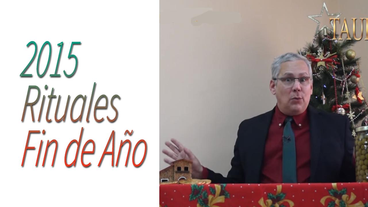 TAURO Video Rituales Fin de Año 2015 | RicardoLatoucheTarot