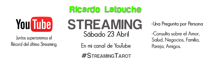 streaming tarot, ricardolatouchetarot, tarot, streaming