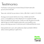 Opiniones y Testimonios  | RicardoLatoucheTarot