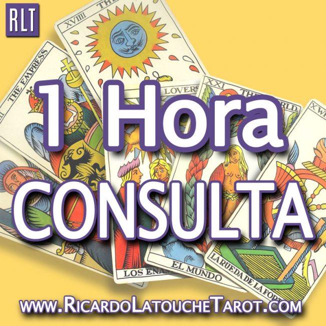 Consulta de 1 Hora con Ricardo Latouche Tarot. Leída de Cartas. Lectura de Cartas de Tarot.